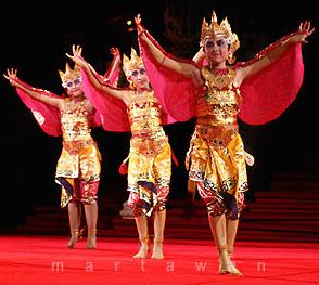 tari bali - manukrawa - BaliWisataTravel.com
