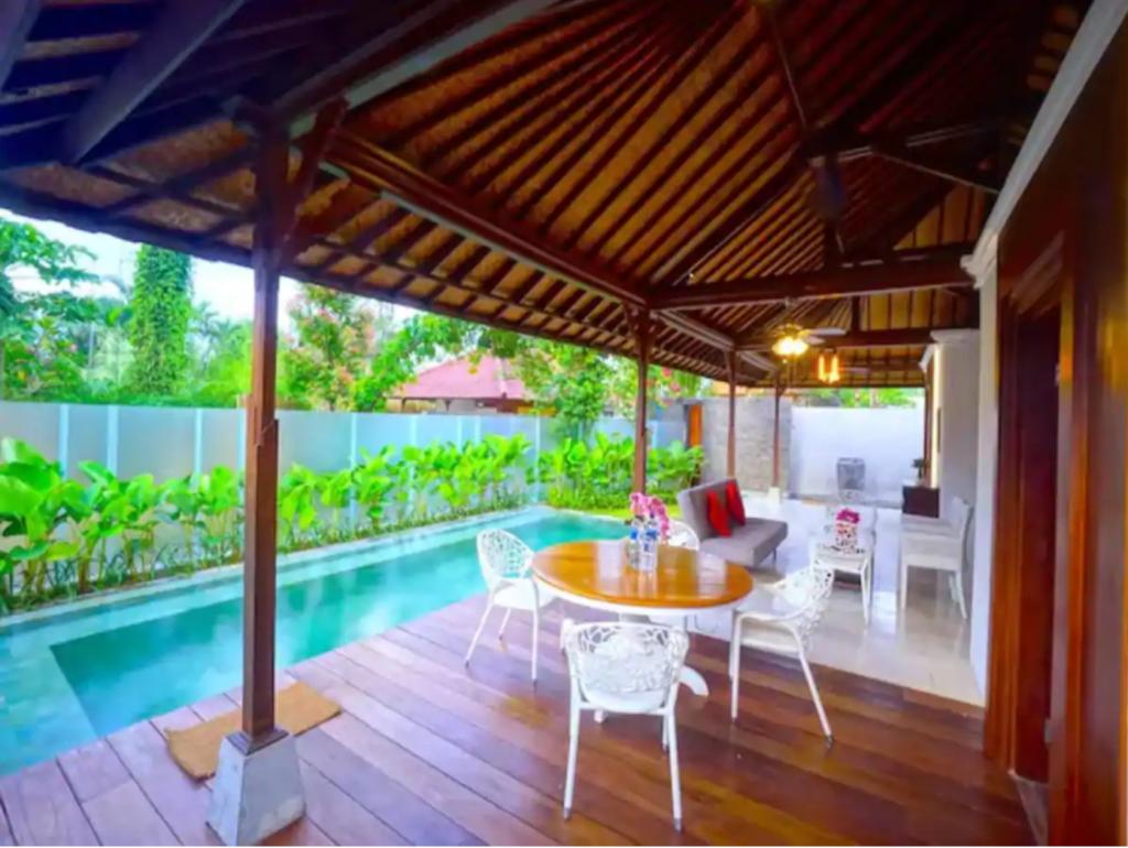 Ubud private pool villa 2 bedrooms