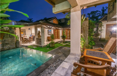 3BR Classic House Private Pool in Ubud's Tranquil Village ·